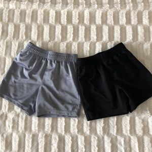 Two basketball shorts